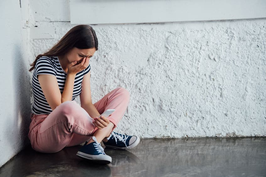 ילדה שנפגשה מבריונות ברשת