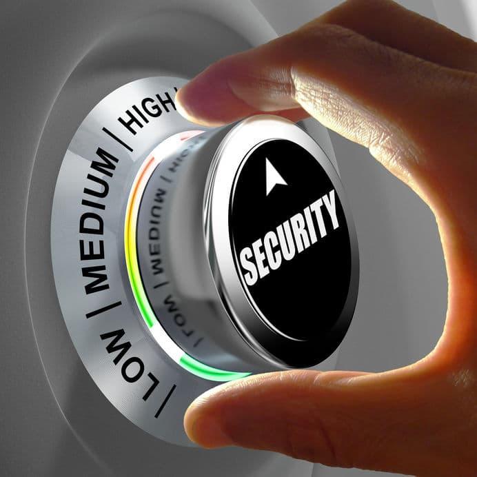 רמת אבטחת מידע בסקר סיכונים